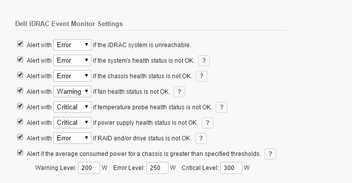 Dell iDRAC Monitoring | FrameFlow