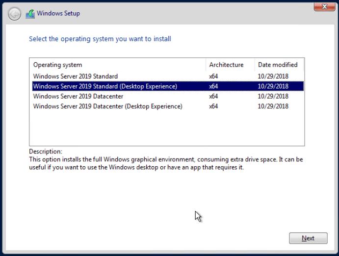 FrameFlow and Windows Server 2019